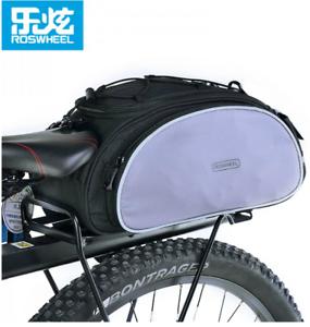 Cycling Bicycle Bike Storage Pannier Saddle Rack Rear Seat Bag Shoulder Handbag