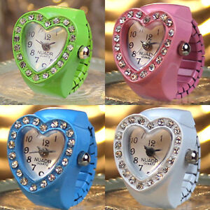 Finger-Ring-Watch-Heart-Diamond-Embellished-for-woman-Fashion-Jewelry-Girls-Gift