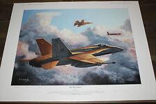 Don Connolly - Soviet Bear Hunters Aviation Art - F-18