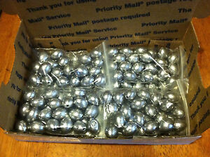40 Egg Slip Sinkers 1 oz fishing weights FAST FREE SHIPPING