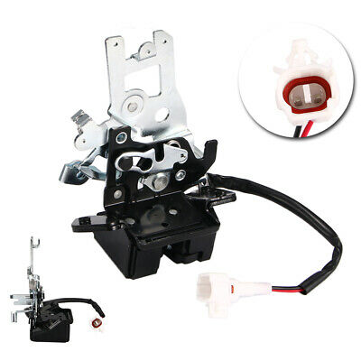 Liftgate Lock Actuator Rear Door Latch Assembly with Cable for 2001-2007 Toyota Sequoia 4.7L V8 Gas