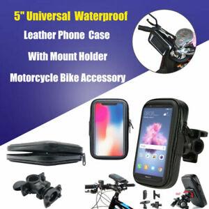 Funda-Soporte-Cubierta-Bici-Bicicleta-Moto-Impermeable-Para-Movil-Samsung-GPS