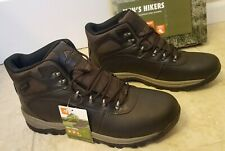 2437db932bc Mens Ozark Trail Waterproof Outdoor Hiking Leather BOOTS Size 12 ...