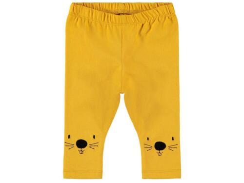 NAME IT Baby Unisex Leggins Stickerei Bio-Baumwolle Babyhose Kinderhose Leggings