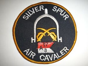 Company A US 3rd Squadron 17th Cavalry Regiment SILVER SPUR Vietnam War Patch