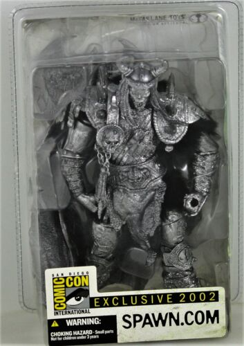McFARLANE SERIES 22 VIKING DARK AGES SPAWN BLOODAXE 2002 SDCC COMIC-CON FIGURE