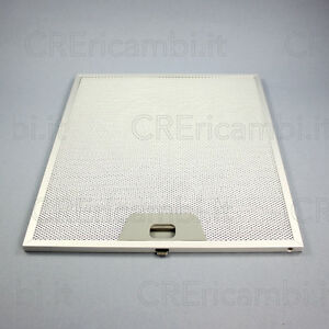 Filtro antigrasso metallico 253 x 300 x 9 mm per cappa for Filtro cappa faber