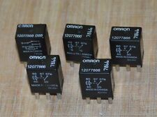 OMRON 12077866 AC DELCO GM RELAYS Fuel Pump general purpose Set of 5 Used Tested