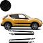 Nissan-Juke-Bandes-Nismo-autocollant-adhesif-Stickers miniatura 1
