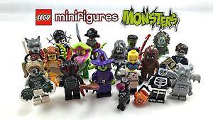 LEGO-Minifigures-Serie-Mostri-Monster-Completa-la-Collezione-NUOVO