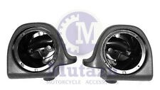 "Lower vented Fairing 6.5"" Speaker Boxes Pods for Harley Touring  1994-2013"