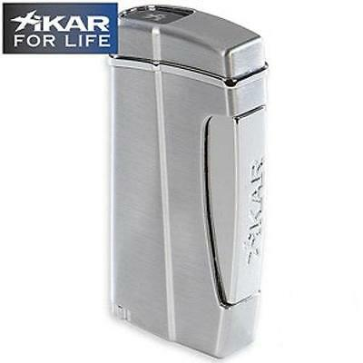 Xikar Executive II Cigar Lighter - Silver - 502SL - Lifetime Warranty ~NEW~