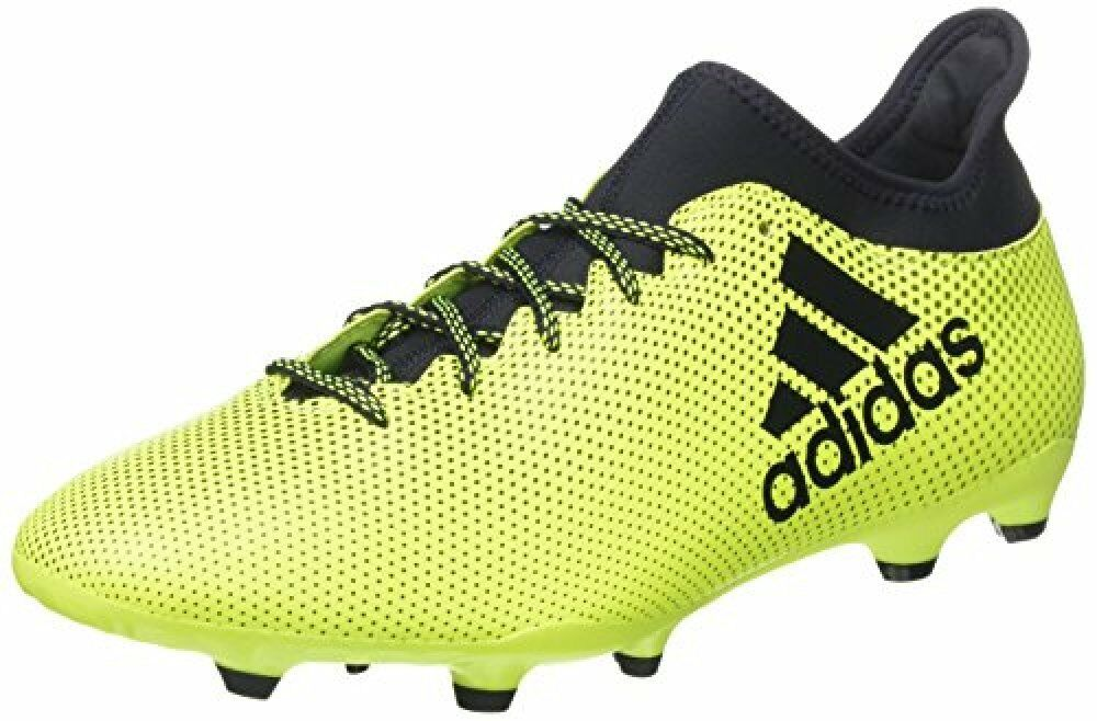Adidas Mens shoes Soccer Cleats X 17.3 Firm Ground Football Yellow S82366 New