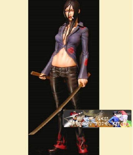 Anime Model Resin Kit 1 4 - Tsukasa Bullet-Azami with Katana