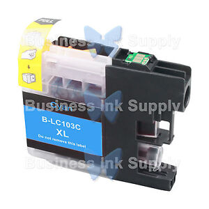 1-Cyan-LC103-VERSION-3-CHIP-High-Yield-Ink-Cartridge-for-BROTHER-MFC-J875DW