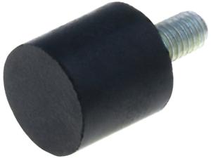 2x DVA4-8-8-M3-70 Screw fastened foot H8mm 8mm Shore hardness705 102N