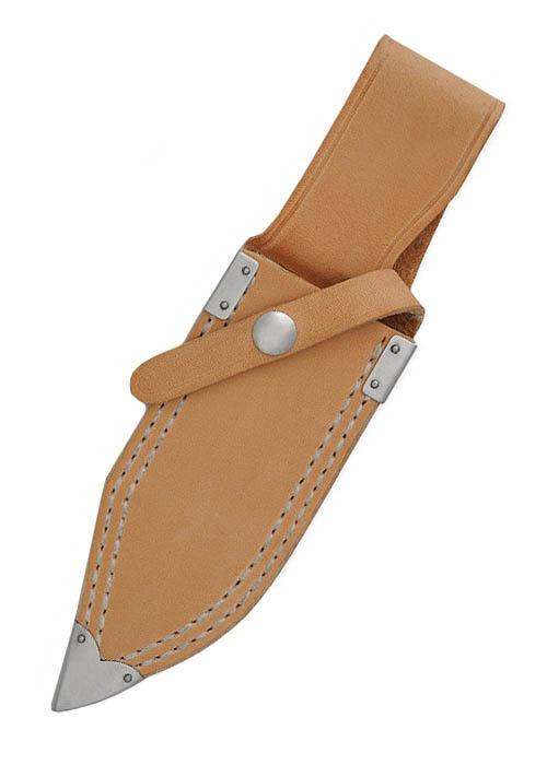 Hanwei Kudu Messer Messer Messer mit Nessmuk-Klinge und Lederlamellengriff 22,2cm Jagdmesser c3402a