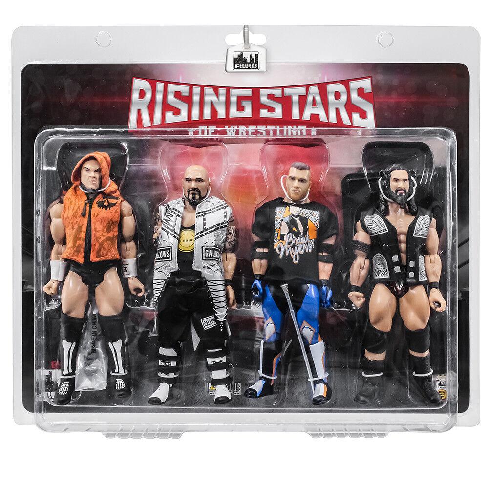 Rising estrellas of Wrestling cifra Serie 4 Pack  calihan, Forca, Myers, Tonga