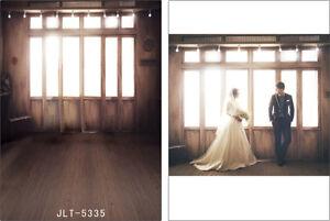 Wood Window Vinyl Photography Backdrop Background Photo Studio Props 3X5FT 5335