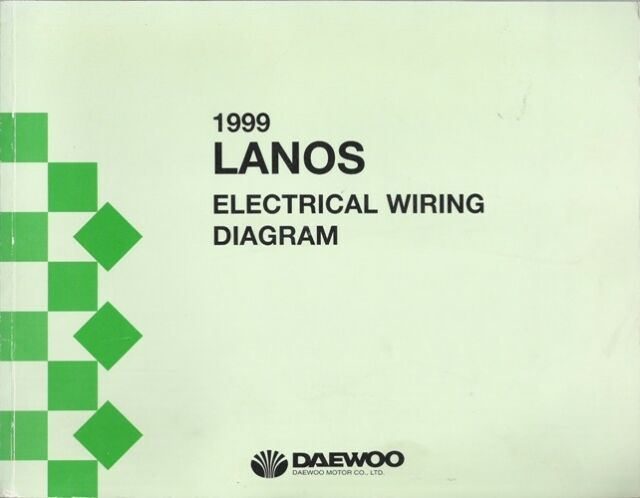 2000 Daewoo Lanos Factory Electrical Wiring Diagrams