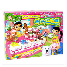 Angel Clay Ice Cream Kit Soft Lightest Modelling Dough - better than Play Doh