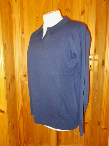 Bnip Nuovo 52 Bnwot Long Balsamik Collared 24 Maglione Blue Sleeve Top pvgwY