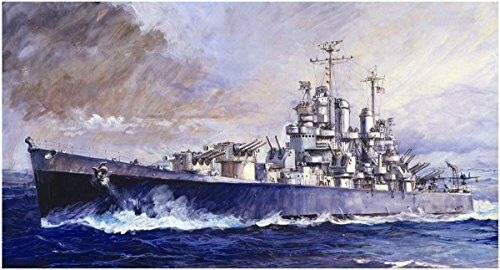 SKY WAVE 1 700 USN LIGHT CRUISER CLEVELAND WW2 CL-55 W208 PLASTIC MODEL F S NEW