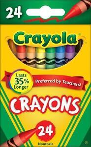 Crayola 52-3024 Crayons - 24 Count