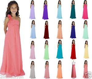 New-Junior-Flower-Girl-Bridesmaid-Dress-Dresses-Princess-Pageant-2-16-years