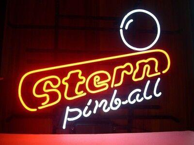 """17/""""x14/""""Stern Pinball Neon Sign Spielzimmer Heim Zimmer Wandbehang Kunstwerk Art"""