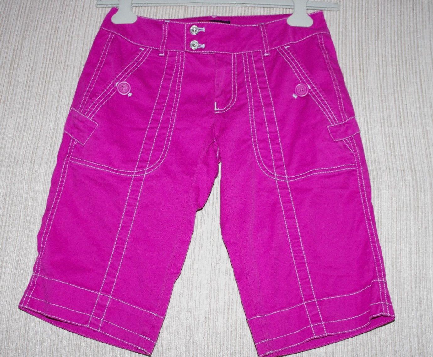 Diesel Pink Cotton Blend Women's Bermuda Shorts Size  4 (S, 27)