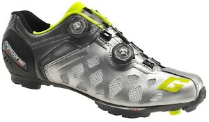 new arrival 1482f 53c60 Details about CYCLING SHOES GAERNE CARBON G.SINCRO MTB SUMMER SILVER