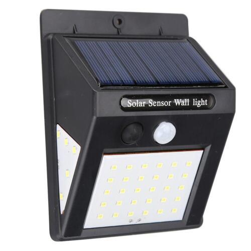 Solar Power Light PIR Motion Sensor Garden Security for Outdoor Yard Wall Lamp