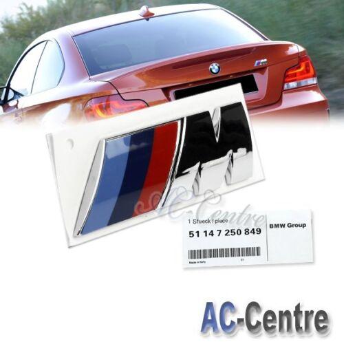 M OEM GENUINE TRUNK REAR BOOT LETTER EMBLEM BADGE FOR BMW E70 X5M E71 X6M