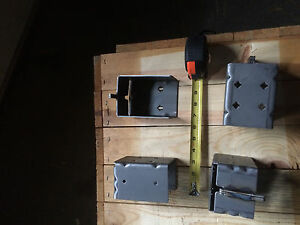 E Track Board Mounting Hangers Double Wide Heavy Duty