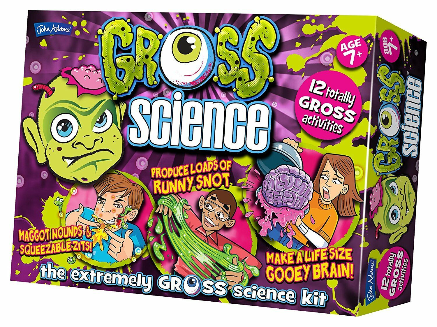 John Adams Gross Science Kit (The Extremely Gross Science Kit) BRAND NEW