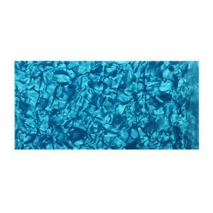 BLUE-PEARL-Celluloid-Guitar-Head-Veneer-Shell-1-5-mm-epais