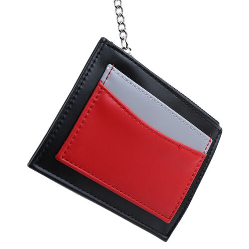 Fashion Pu Leather Mini Coin Purse Key Chain Card Holder Wallet For Women shan