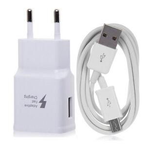 Chargeur-mural-USB-Cable-Adaptateur-EU-Plug-Voyage-Pour-Samsung-Galaxy-LG-Huawei