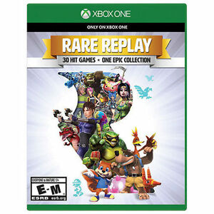 Rare-Replay-Xbox-One-XB1-Brand-New-30-Hit-Games-in-1-Collection-Free-Shipping