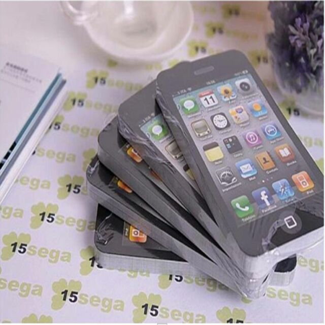 Free Shipping Sticky Post It Note Paper Cell Phone Memo Pad Gift