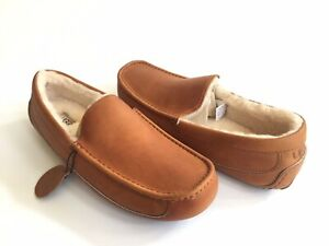 6f6c69a5ca4 Details about UGG ASCOT PINNACLE TAN SHEARLING LINED HORWEEN LEATHER SHOE  US 13 / EU 46 /UK 12