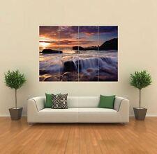 Hermoso Mar Sky Paisaje Paisaje Poster Gigante De Pared Art Print imagen G812