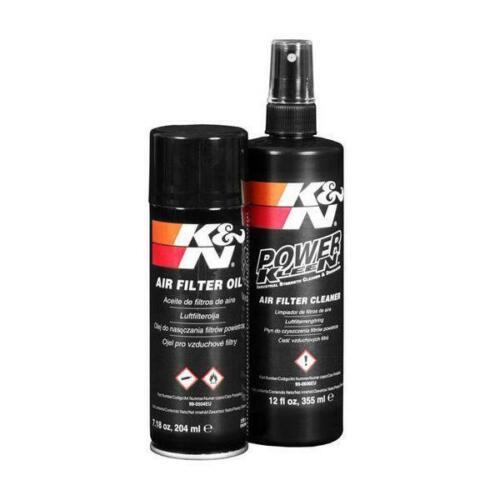 I preparativi per la manutenzione dei filtri aria sportivo K/&N 99-5000EU