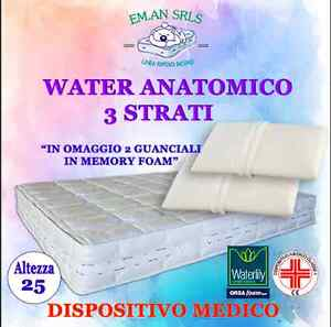Miglior Materasso In Memory Foam.Materasso Memory Matrimoniale Dispositivo Medico 3 Strati H 24