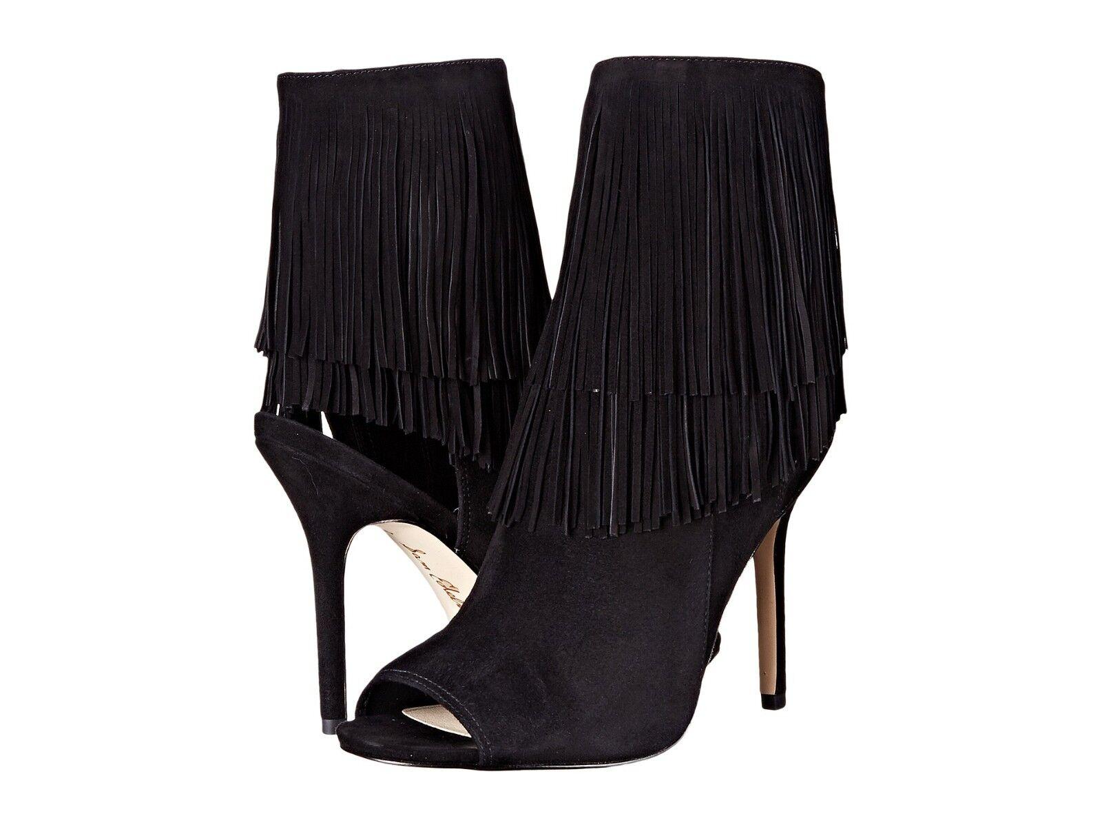 Para mujeres Sam Edelman Edelman Edelman Arizona Peep Toe Botines, E2367L1001 Negro Gamuza Tallas 6-9.5  disfruta ahorrando 30-50% de descuento