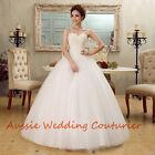 Make to Measure Debutante Dress Formal Gown Bridal Wedding Deb Dress Custom Size
