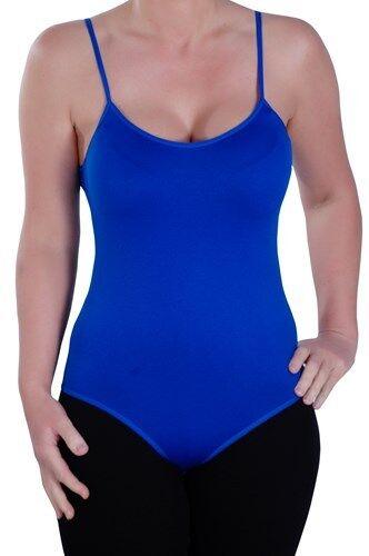 Para Mujer Llanura Casual Sin Mangas Con Tiras Calce Ajustado Elástico Body Leotardo