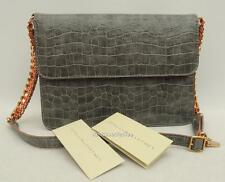 STELLA MCCARTNEY Croc Print Shoulder Bag Falabella New