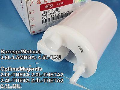OEM Long Life Fuel Filter KIA Optima Magentis 2.0L 2.4L 2.7L 06-10  #319112G000 | eBayeBay